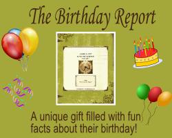 What happened on my birthday?